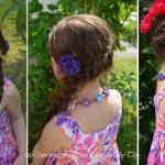 Kiểu tóc đáng yêu cho công chúa nhỏ