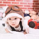 Bé 1 tháng tuổi biết nói ở Hà Nội