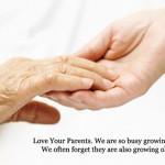 Hãy yêu cha mẹ như cách mà cha mẹ đã yêu thương ta