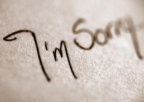 Mẹ xin lỗi- con yêu của mẹ