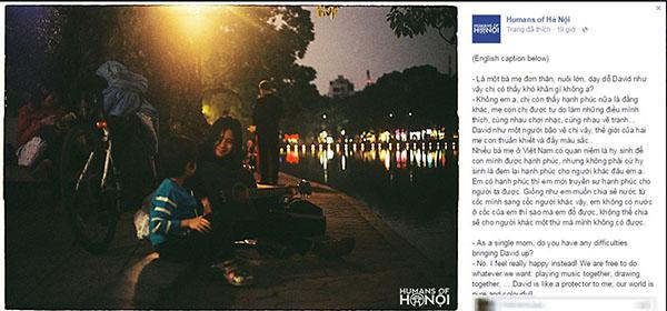 Một single mom Hà Nội quan điểm sống hạnh phúc khiến dân mạng ngưỡng mộ