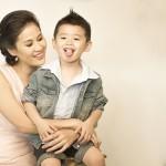 Thân Thúy Hà tự tin làm mẹ đơn thân
