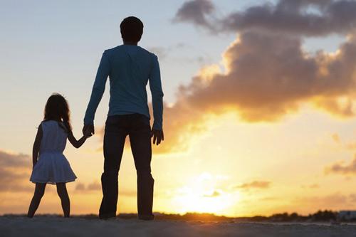 """""""Bí quyết"""" làm bố đơn thân thành công"""