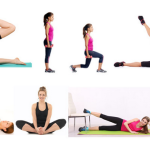 Giảm cân hiệu quả nhờ các bài tập gym cho nữ: Bài tập cho mông đùi