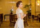 Hoa hậu Ngọc Diễm hài lòng khi làm mẹ đơn thân