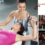 Các bài tập thể hình cơ bản cho nữ luyện cơ bắp toàn cơ thể