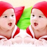 Tìm tên đẹp cho con: Cách đặt tên cho cặp song sinh