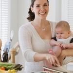 Chế độ ăn uống hợp lý cho mẹ sau sinh