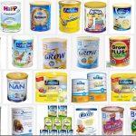 Top 10 sữa bột cho trẻ dưới 1 tuổi tốt nhất hiện nay