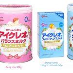 Sữa bột Glico của nhật có giúp trẻ tăng cân hay không?