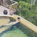 'Mẹ đơn thân' Thanh Trúc táo bạo bán nude sexy khi du lịch
