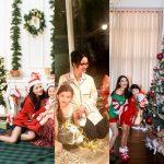 Ngắm hình ảnh 3 bà mẹ đơn thân đắt giá nhất showbiz Việt nô nức đón giáng sinh cùng con